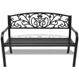 Bingen Steel And Cast Iron Bench By Sol 72 Outdoor