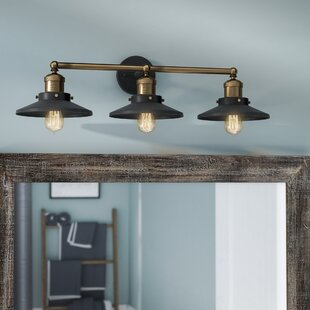 Inexpensive Spectre 3-Light Vanity Light By Trent Austin Design