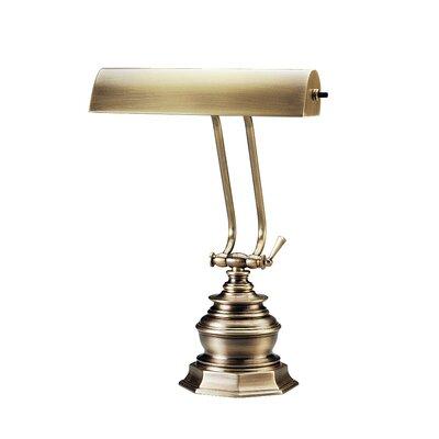 Charlton Home Joellen 14'' Piano Lamp Finish: Antique Brass