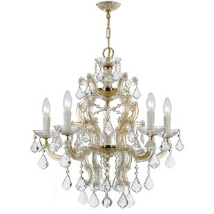 House of Hampton Griffiths 6-Light Candle Style Chandelier
