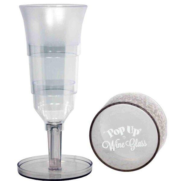 Streamline Pop Up 8 Oz Plastic All Purpose Wine Glass Wayfair