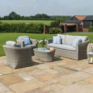 Erardo 5 Seater Rattan Sofa Set By Sol 72 Outdoor