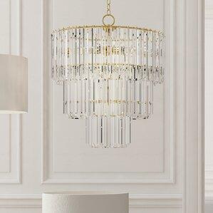 grisella 9light crystal chandelier - Brass Chandelier