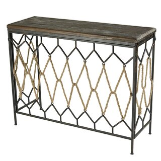 "Schulze 41"" Console Table by Highland Dunes SKU:EA518922 Check Price"