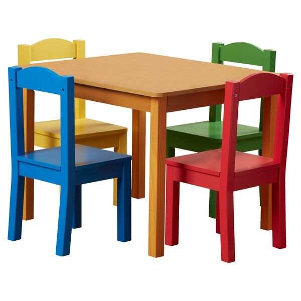 kids 39 table and chairs you 39 ll love wayfair. Black Bedroom Furniture Sets. Home Design Ideas