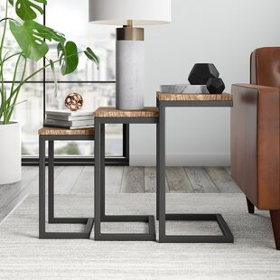 Cetus 3 Piece Nesting Tables Mercury Row