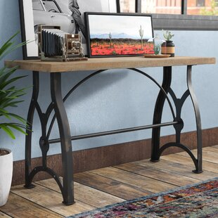 17 Stories Alice Industrial Console Table