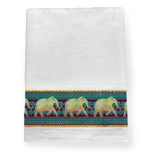 Elephant 100% Cotton Bath Towel