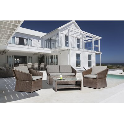 4 Piece Dining Set With Cushions by Baner Garden Purchase