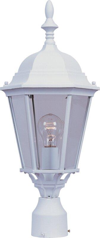 """Westlake 1 Light 9.5"""" Outdoor Post Lantern"""