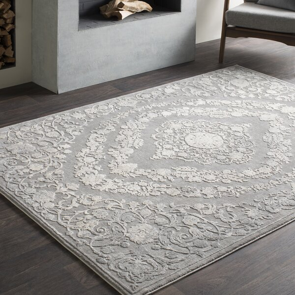 Charlton Home Thissell Oriental Gray Area Rug Reviews Wayfair