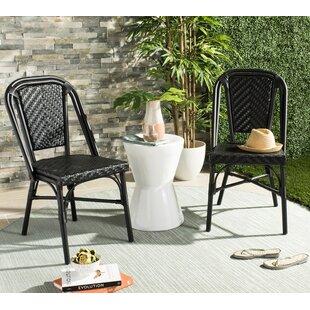 Montura Stacking Garden Chair (Set Of 2) By Beachcrest Home