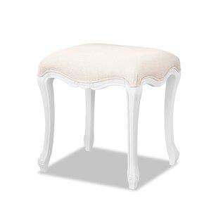 Lemaire Upholstered Dressing Table Stool By Fleur De Lis Living