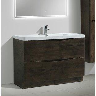 Reviews Ruelas Modern 47 Single Bathroom Vanity Set ByWrought Studio