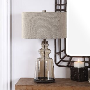 Armando Glass 27 Table Lamp