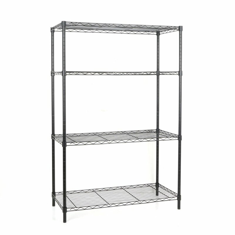 Tidy Living 4 Tier Wire Storage Rack & Reviews | Wayfair