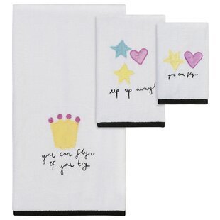 Helen 3 Piece 100% Cotton Towel Set