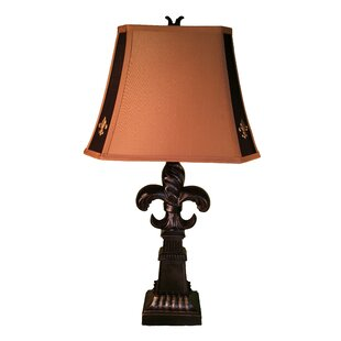 Fleur de lis lamp wayfair fleur de lis 31 table lamp set of 2 aloadofball Choice Image
