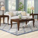 Crutchfield 3 Piece Coffee Table Set by Charlton Home