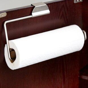Over The Door Paper Towel Holder