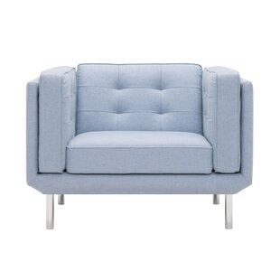 Plateau Fibre Filled Armchair by EQ3