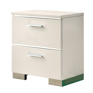 Ricka 2 Drawer Nightstand