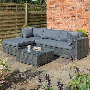 Norgren 4 Seater Rattan Sofa Set Image