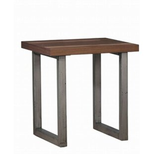 Cheval End Table by Williston Forge