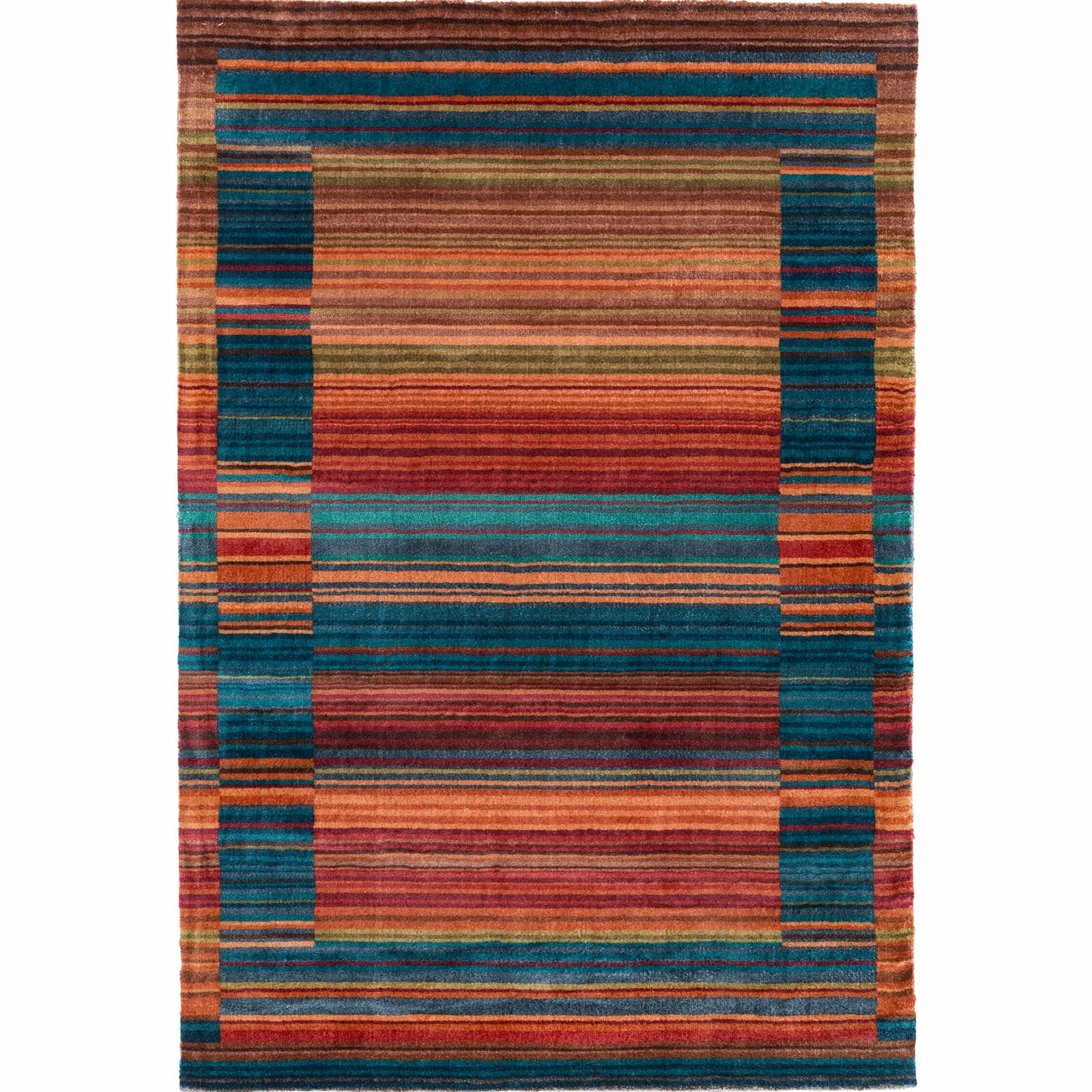 This Product Is A Vibrant Color Fl Print Area Rug