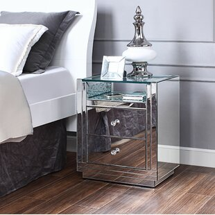 Longo 2 Drawer Nightstand by Rosdorf Park