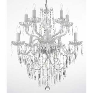 House of Hampton Kenyon 10-Light Candle S..