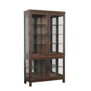 Hazelden Light Curio Cabinet by Gracie Oaks