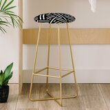 The Old Art Studio Monochrome 31 Bar Stool by East Urban Home
