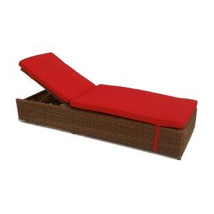 ElanaMar Designs Santa Barbara Chaise Lounge with Cushions