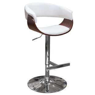 Cove Adjustable Height Swivel Bar Stool b..