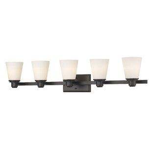 Affordable Whelchel 5-Light Vanity Light By Winston Porter
