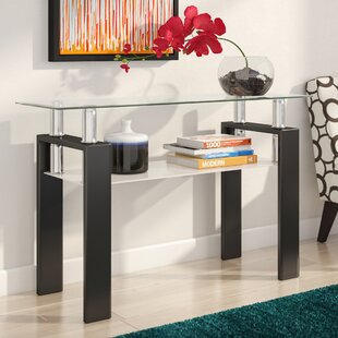 Buy clear Tiffany Console Table ByZipcode Design