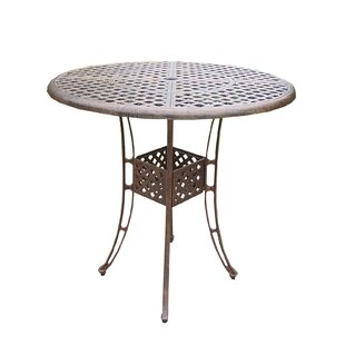 Thelma Cast Aluminum 42 Inch Bar Table