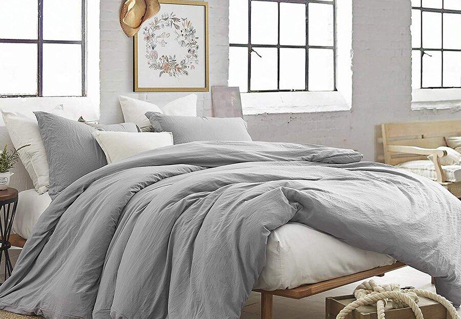 Gray & Silver Bedding
