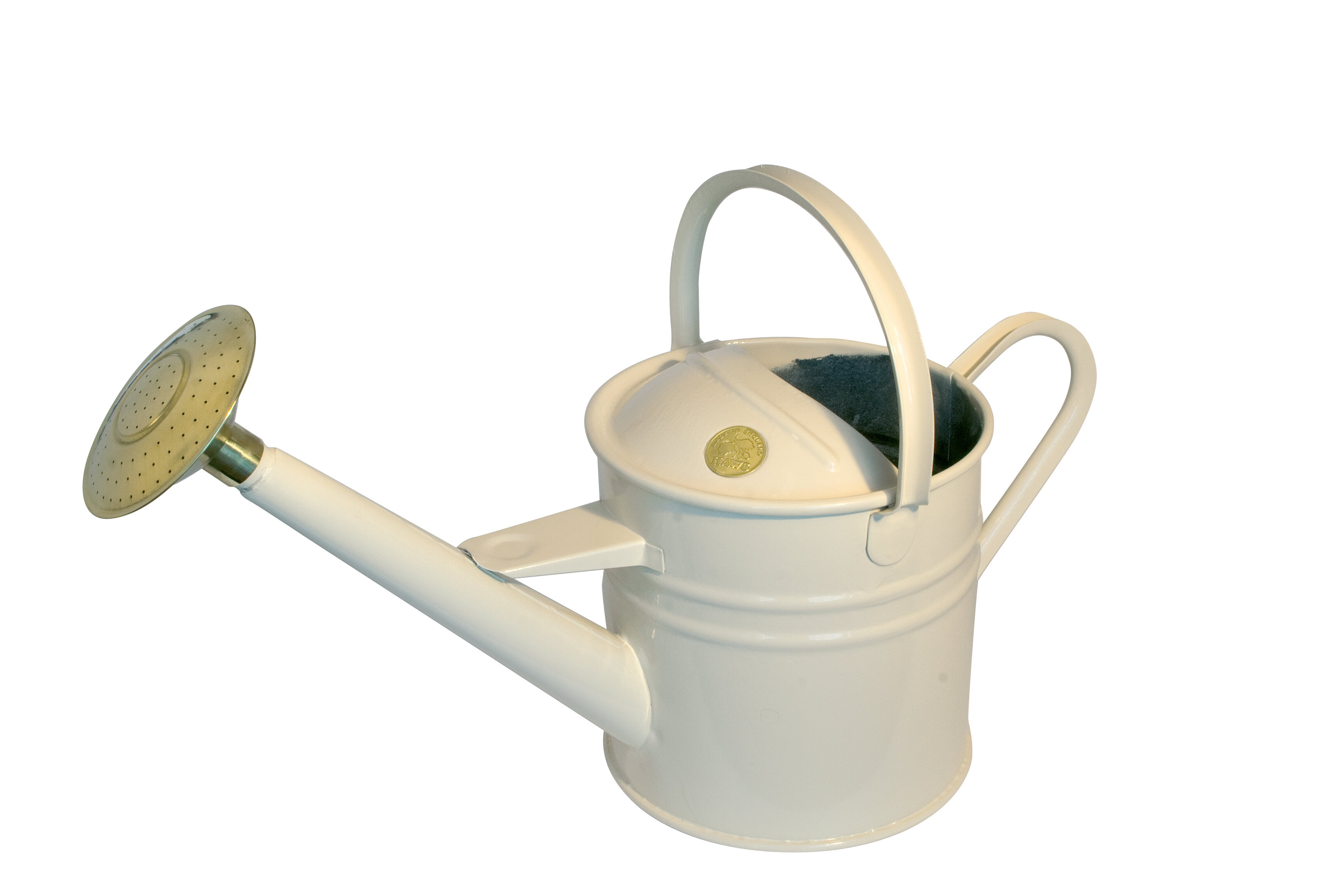 Haws Watering Cans Traditional Cream Metal Outdoor Can 4 5 Ltr 1 2 Us Gallons Wayfair