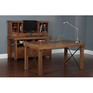Leandra Desk with Hutch 3 Piece Set