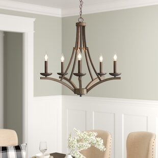 Wireman 5-Light Candle Style Chandelier