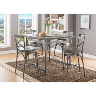 Bigelow 5 Piece Counter Height Dining Set