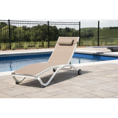 White Outdoor Chaise Amp Lounge Chairs You Ll Love In 2020