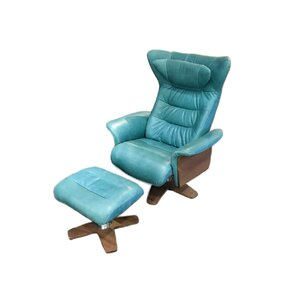 Verra Leather Manual Swivel Recliner with Ottoman  sc 1 st  AllModern & Modern Recliners - Find the Perfect Recliner Chair | AllModern islam-shia.org