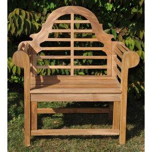 Marlboro Lutyens Teak Patio Dining Chair