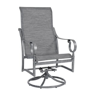 Ridgecrest High Back Swivel Rocking Chair