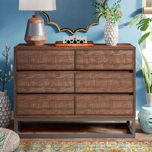 Cope 6 Drawer Double Dresser