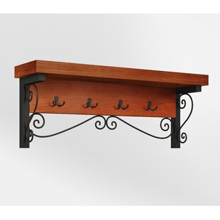 Carrollton Scrollwork Wall Mounted Coat Rack