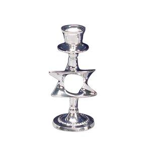 Silver Plated Candlestick (Set of 2)  sc 1 st  Wayfair & Silver Plated Candlesticks | Wayfair